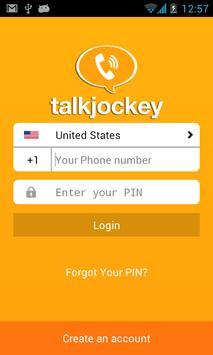 TalkJockey Prepaid Calling poster
