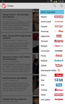 Gündem: Haberler & Yazarlar apk screenshot