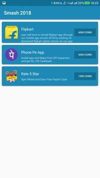 smash 2018 - earn unlimited money screenshot 3