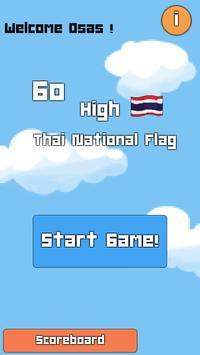 Go High Thai National Flag! poster