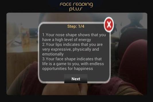 Face Reading Plus screenshot 2