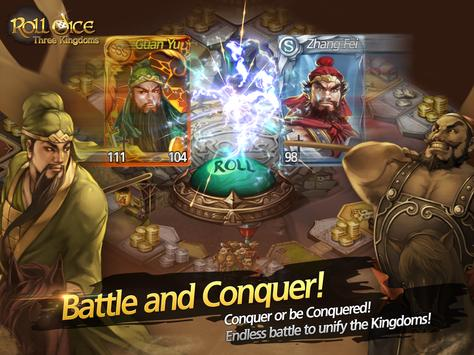 Roll Dice: Three Kingdoms apk screenshot