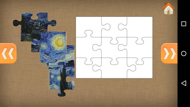 Art Jigsaw Puzzles for Kids poster