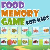 Food Memory Game for Kids icon