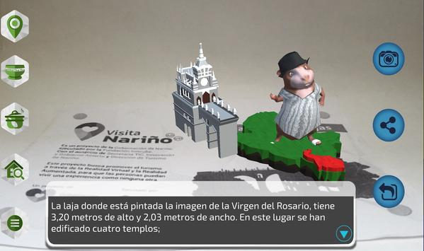 Visita Nariño AR poster