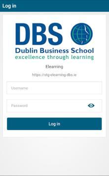 Dublin Business School E-learning Poster