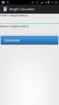 Height Calculator poster