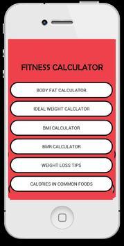 My Fitness Calculator poster