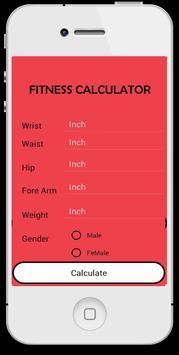 My Fitness Calculator screenshot 1