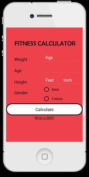 My Fitness Calculator screenshot 4