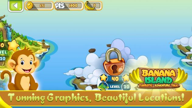 Banana Island - Adventure Tale apk screenshot