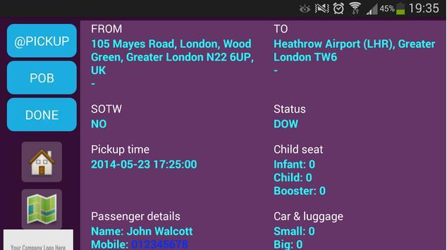 LCAT Driver App screenshot 6