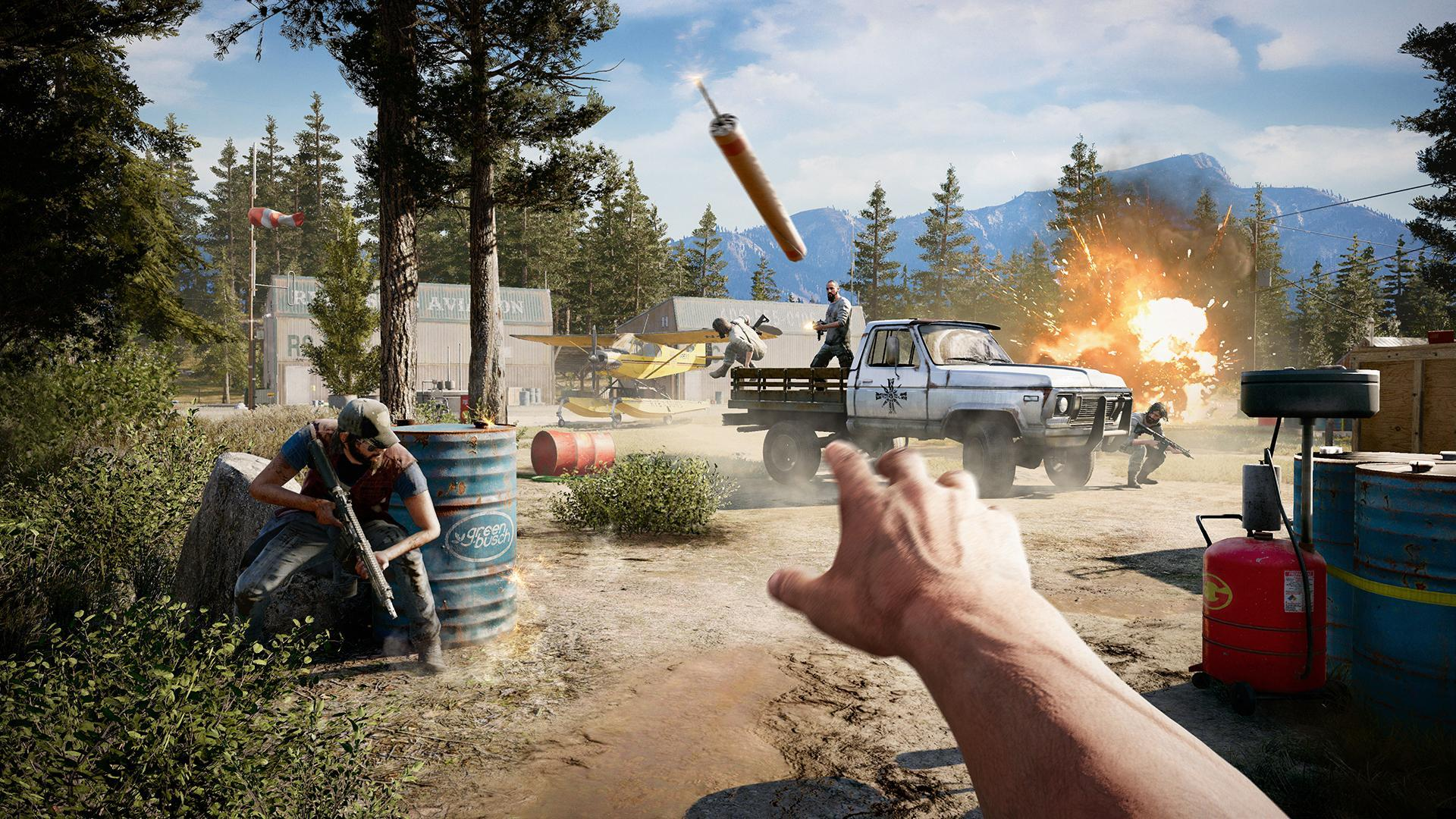 Far Cry 5 Wallpaper And Arts For Android Apk Download