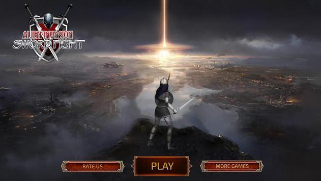 Alien Invasion Sword Fight screenshot 1
