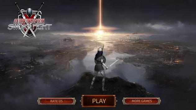 Alien Invasion Sword Fight screenshot 4
