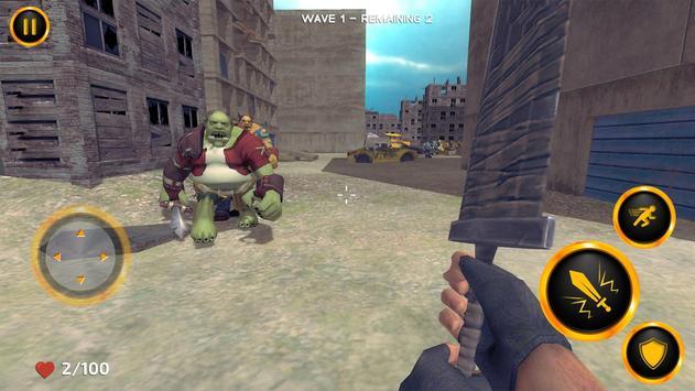 Alien Invasion Sword Fight screenshot 6