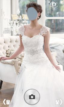 Wedding Dress Photo Montage poster