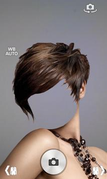 Woman hair style photo montage apk screenshot