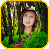 Jungle Forêt Cadres photo icône