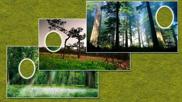 정글 숲 사진 프레임 스크린샷 6
