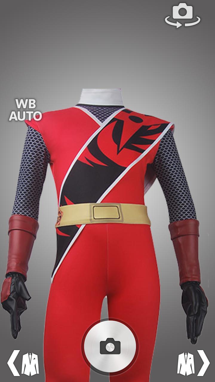 Ranger Super Sentai Hero Costume Photo Montage for Android