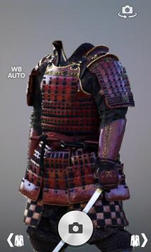 Samurai armor suit fotomontage apk screenshot