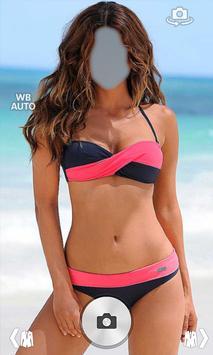 Bikini Suit Photo Montage poster