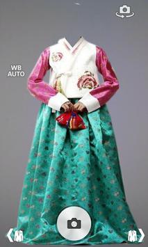 Hanbok Dress Photo Montage poster
