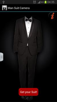 Man Suit Camera : Luxury suits apk screenshot