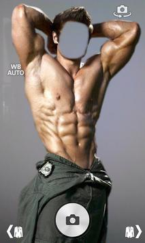 Six Pack Camera Photo Montage poster