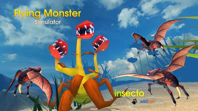Flying Monster Insect Sim poster