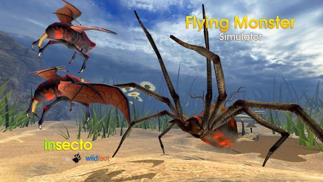 Flying Monster Insect Sim apk screenshot