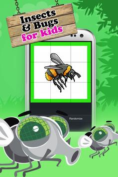 Insect & Bug Kids Puzzle poster