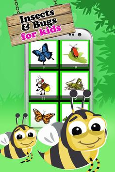 Insect & Bug Kids Puzzle screenshot 1