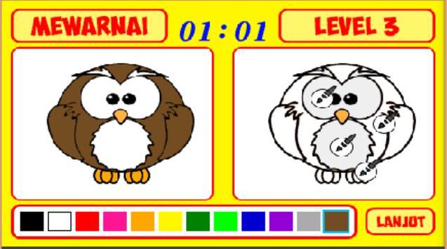 Mengenal Warna dan Mewarnai screenshot 13
