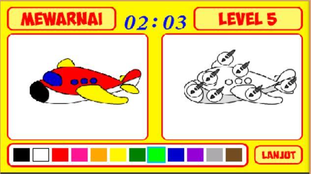 Mengenal Warna dan Mewarnai screenshot 7