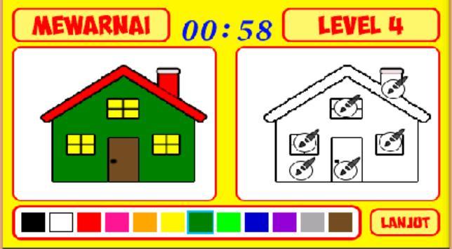 Mengenal Warna dan Mewarnai screenshot 4