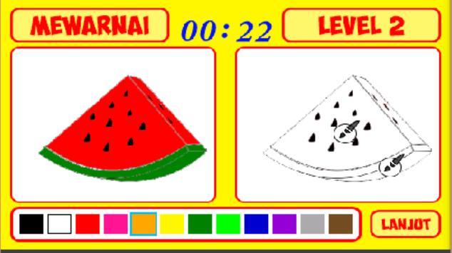 Mengenal Warna dan Mewarnai screenshot 9