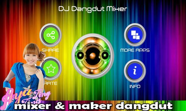 DJ Dangdut Mixer screenshot 1