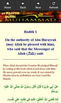 40 Hadits Qudsi (English) poster