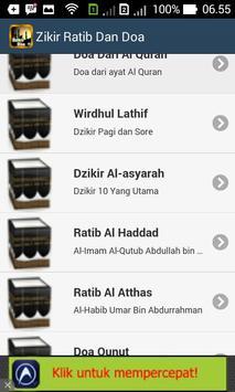 ZIKIR RATIB DAN DOA apk screenshot