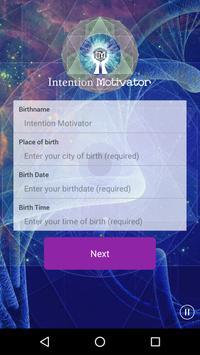 Intention Motivator poster
