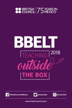 BBELT 2018 poster