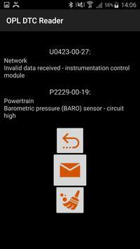 OPL DTC Reader screenshot 3