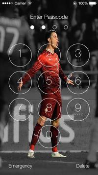Cristiano Ronaldo Lock Screen HD screenshot 4