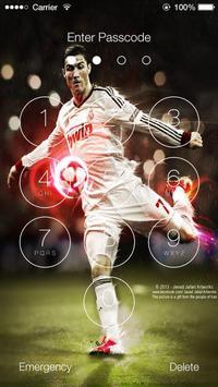 Cristiano Ronaldo Lock Screen HD poster