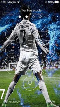 Cristiano Ronaldo Lock Screen HD screenshot 1