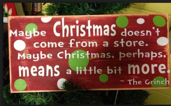 Inspirational Christmas Quotes poster