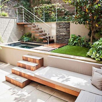 Inspiration Garden Landscape poster