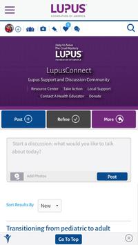 LupusConnect Inspire Community poster